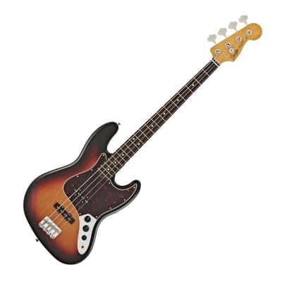 Fender Classic Series 70's Jazz Bass, 3 Tone Sunburst, Pau Ferro for sale
