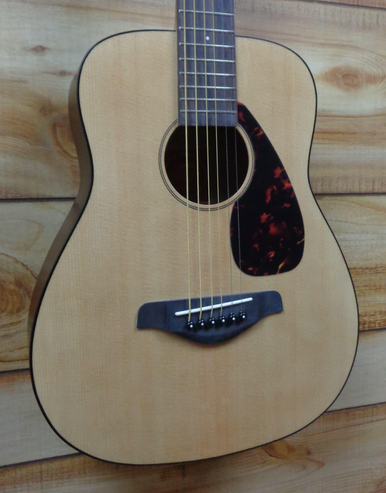 New yamaha jr2 3 4 size acoustic guitar natural w gigbag for Yamaha jr2 3 4