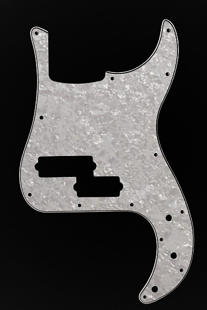 squier vm precision bass v 5 string pbass pickguard 4 ply reverb. Black Bedroom Furniture Sets. Home Design Ideas