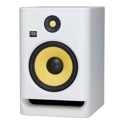 KRK RP8G4 Rokit Gen 4 8'' Active Powered Studio Monitor, White Noise Edition