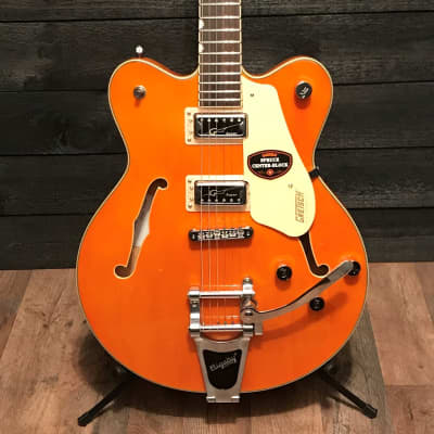 Gretsch G5622T Electromatic Center Block Hollow Vintage Orange Electric Guitar
