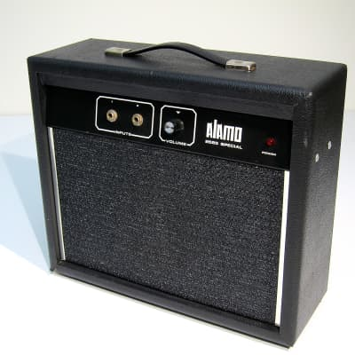 Alamo Model 2525 Vintage 1970s Combo Guitar Amp All Original Super Clean Working Loud & Proud Mary for sale