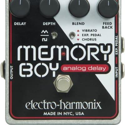Electro Harmonix Memory Boy Analog Delay Pedal W/ Chorus/Vibrato for sale
