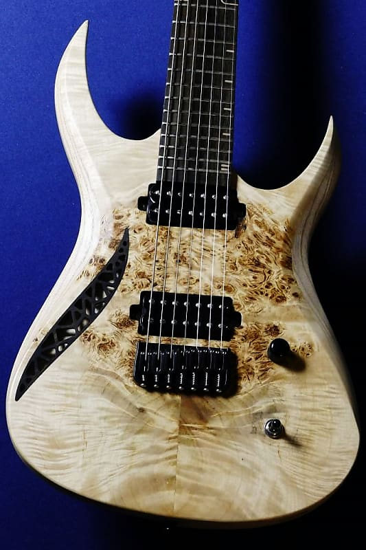 OD Guitars Rhea 7 Natural Burl Top【7 Strings】【2 8