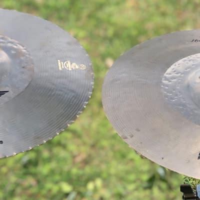 """Zildjian 13"""" K Custom Hybrid hi hats"""