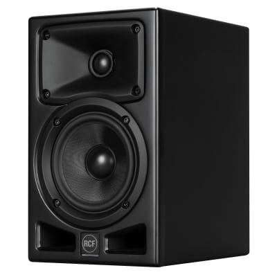 "RCF Ayra Five 5"" Pro Active Powered Bi-Amp 2-Way Studio Reference Monitor Speak"