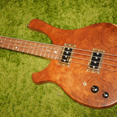 Serek Basses Sacramento, Left-Handed, 2019 Bubinga Top, Serek Singles, Mahogany and Maple for sale