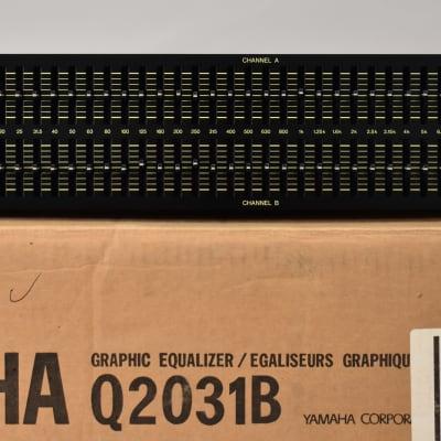 Yamaha Q2031, Graphic EQ | Reverb