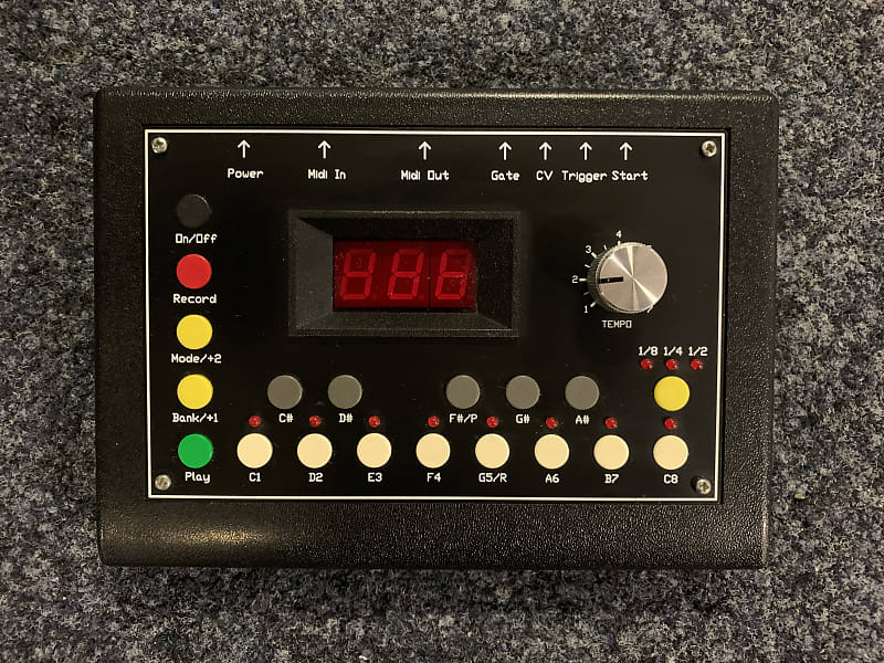mfb 602 version 1 0 black step time sequencer midi  u0026 cv