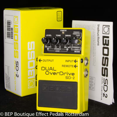 Boss SD-2 Dual Overdrive 1995 s/n CH41294