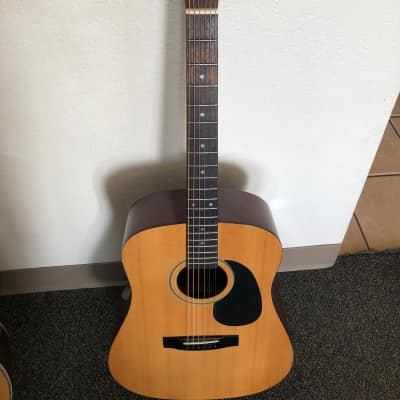 Goya G-300 1980s Natural Acoustic Guitar C F Martin Co for sale