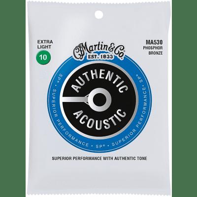 Martin MA530 Phosphor Bronze Acoustic Guitar Strings - Extra Light (10-47)