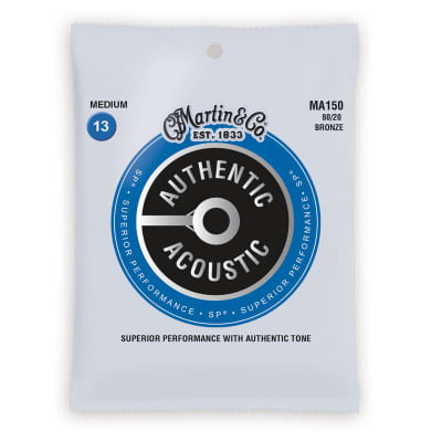 Martin Authentic Acoustic SP Strings - 80/20 Bronze Medium
