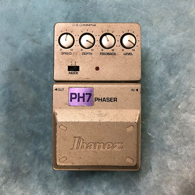 Ibanez PH7 Tone-Lok Phaser Effects Pedal