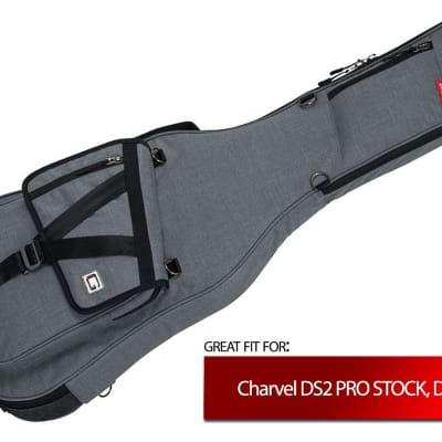 Grey Gator Case for Charvel DS2 PRO STOCK, DS-3 ST, DX-1 FR for sale