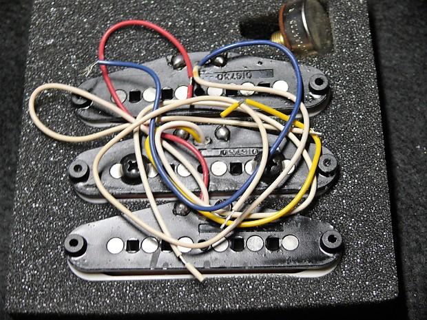 Fender American Standard Strat Pickups Delta Tone System Set Reverb
