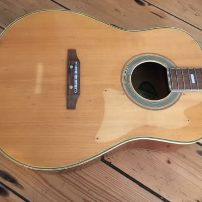 Vintage 1970s Woolworths Audition 12 string Acoustic Guitar Japan Spares Repairs for sale