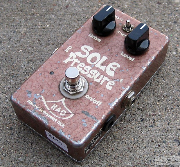 used hao sole pressure overdrive pedal reverb. Black Bedroom Furniture Sets. Home Design Ideas