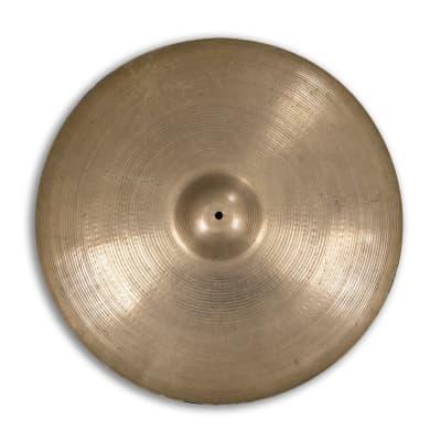 "A. Zildjian 24"" Hollow Logo Medium Ride Cymbal 1978 - 1982"