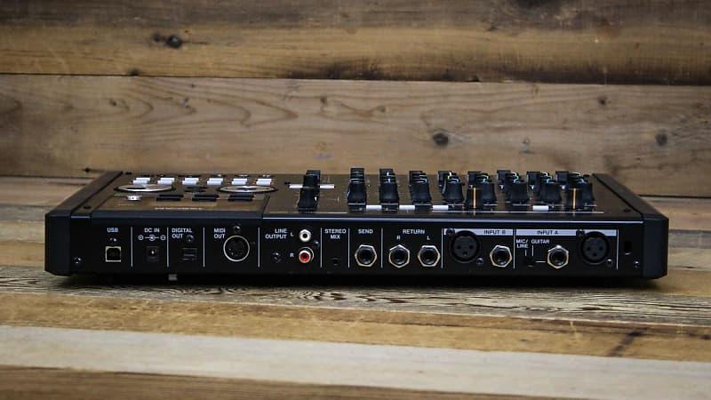 tascam dp 02cf portastudio recorder w cable reverb. Black Bedroom Furniture Sets. Home Design Ideas