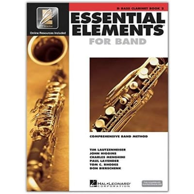 Essential Elements for Band - B-Flat Clarinet | Book 2 (w/ EEi)