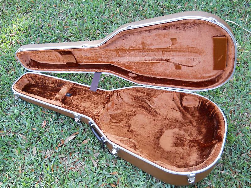 d2b11966ba Description; Shop Policies. Vintage 1970s. Ovation Brown Hard Shell Deep  Bowl Acoustic Guitar Case Good Vintage Condition