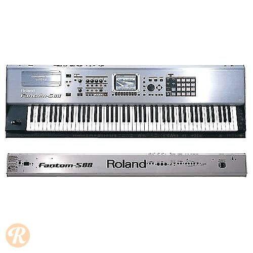 roland fantom s88 88 key sampling workstation keyboard reverb. Black Bedroom Furniture Sets. Home Design Ideas