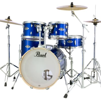 """Pearl Export 10""""x7"""" Add-On Tom Pack HIGH VOLTAGE BLUE EXX10P/C717"""