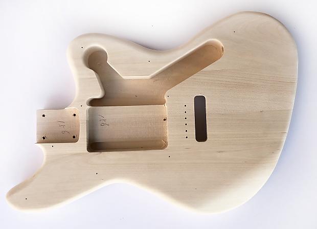 diy electric guitar kit offset 3 single coil build your own reverb. Black Bedroom Furniture Sets. Home Design Ideas