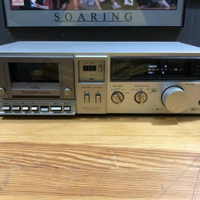 Technics Model No. RS-M240X DBX Stereo Cassette Deck Player Hifi