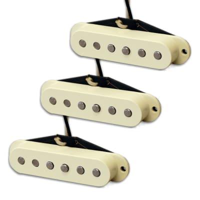 Lindy Fralin Blues Special Strat Pickup Set w/Bassplate