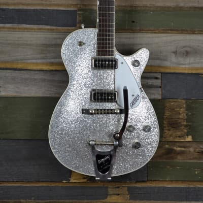 Gretsch Silver Jet 6129-57T 1999 Silver Sparkle for sale