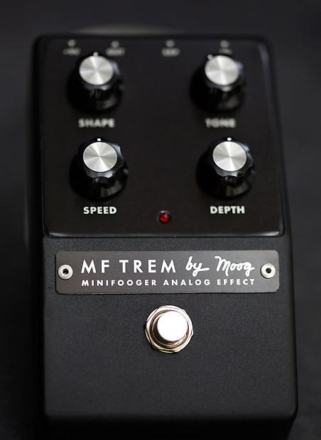 moog music mf trem minifooger guitar effects pedal reverb. Black Bedroom Furniture Sets. Home Design Ideas
