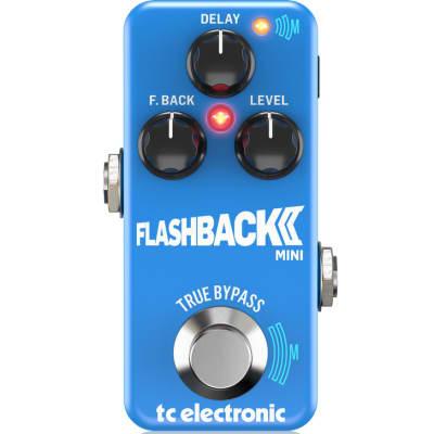 Tc Electronic Flashback 2 Mini Delay Effetto A Pedale Per Chitarra Toneprint E Tecnologia Mash for sale