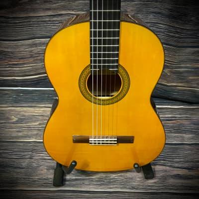 Yamaha CG-102 Full-Size Spruce Top Classical Guitar Natural