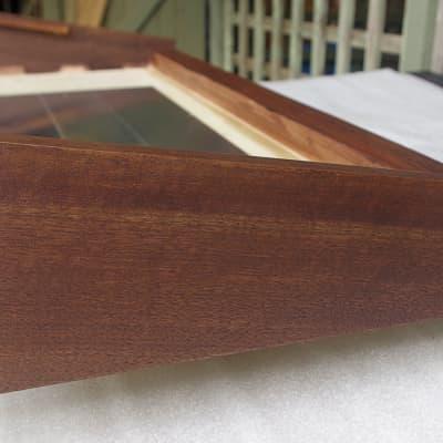 Custom Wooden Case for Korg Polysix American Walnut