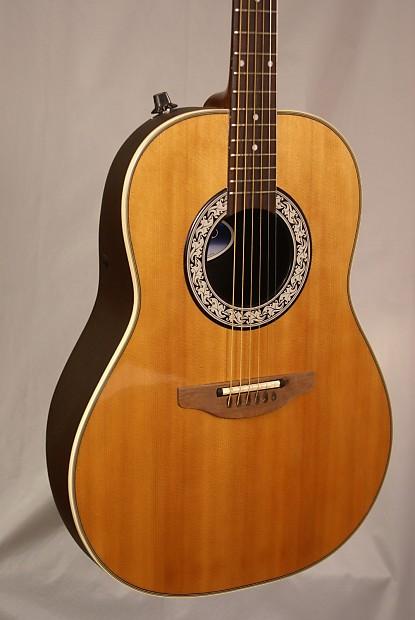 ovation ultra series 1512 vintage acoustic electric guitar reverb. Black Bedroom Furniture Sets. Home Design Ideas