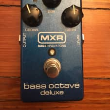 MXR Bass octave deluxe  2010's Blue