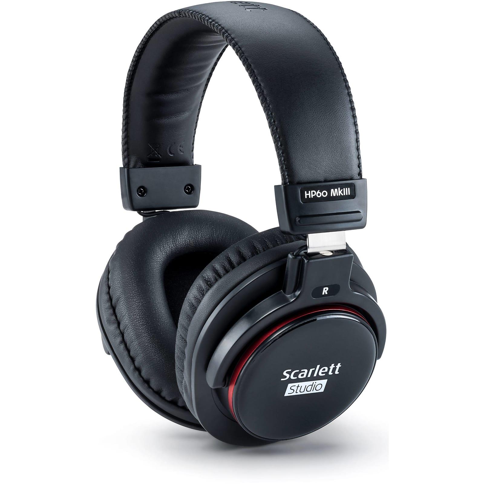 Focusrite Scarlett Solo Studio Pack (3rd Gen) USB Audio Recording Bundle
