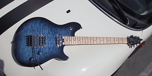 evh wolfgang standard electric guitar eddie van halen quilted reverb. Black Bedroom Furniture Sets. Home Design Ideas