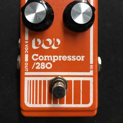 DOD 280 Compressor 1980 Orange for sale