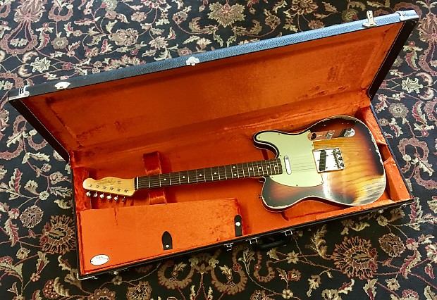 a52b6750d2 Description; Shop Policies. Up for your consideration is a G&G Fender  Stratocaster/Telecaster Hard Shell Guitar Case ...
