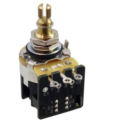 CTS 500K Audio Taper Push Pull Pot - Single Pot