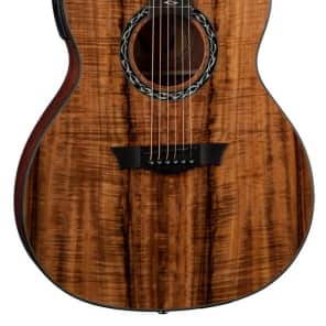 Dean Guitars EX KOA Wood Exhibition Series Acoustic-Electric Guitar with Aphex for sale