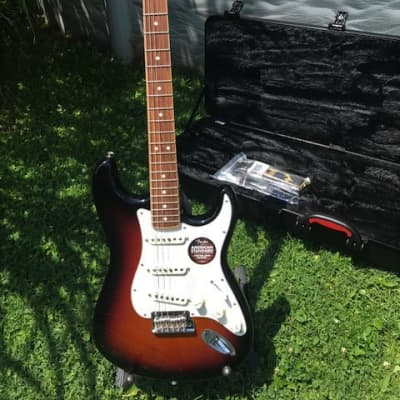 Fender Limited Edition 2016 American Standard Stratocaster Channel Bound Demo with Tags for sale