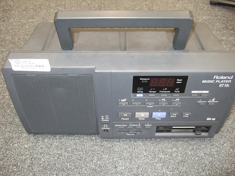 Roland MT 80S Midi file player with 3 5