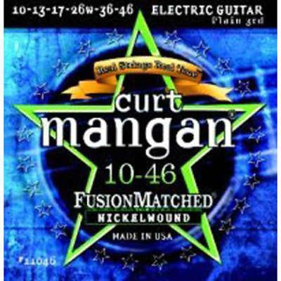 Curt Mangan Nickel Wound Electric Guitar Strings 10-46
