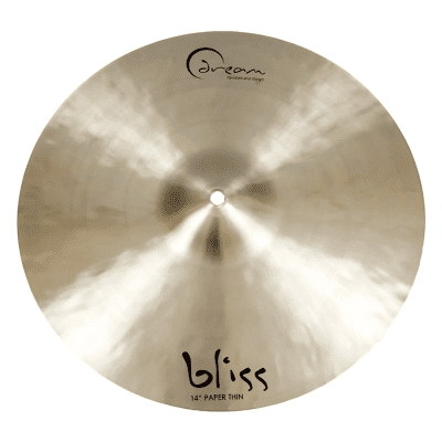 """Dream Cymbals 14"""" Bliss Series Paper Thin Crash Cymbal"""