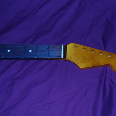 21 Fret Relic 7.25 V Stratocaster Vintage Allparts Fender Licensed Rosewood Neck (fits mjt nash usa) for sale