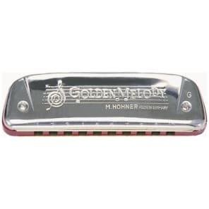 Hohner 542BL-C Progressive Series Golden Melody Harmonica - Key of C